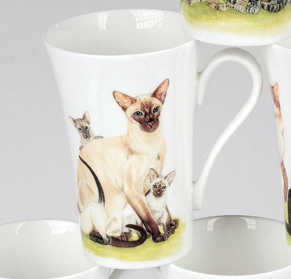 Bild von Roy Kirkham Cat Collection Siamkatze Becher Emily 0,35 L