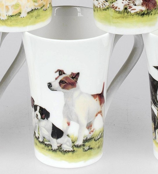 Bild von Roy Kirkham Dog Collection Jack Rusell Terrier Becher Emily 0,35 L
