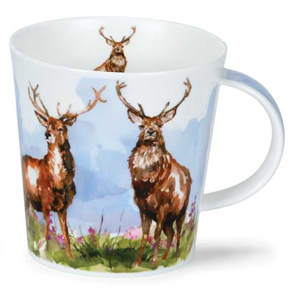 Bild von Dunoon Tasse Hirsch Monarch of the glen Jumbo Cairngorm