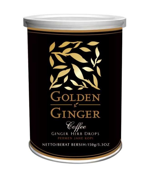 Bild von Ingwerbonbons Golden Ginger Herb Candy Coffee
