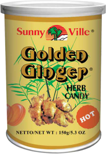 Bild von Ingwerbonbons Golden Ginger Herb Candy Hot