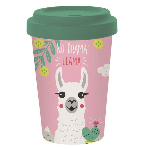 Bild von No Drama Lama Bambus Travel Mug Coffee to go