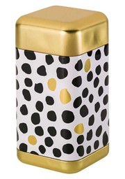 Bild von Teedose Black and White Dots 180g