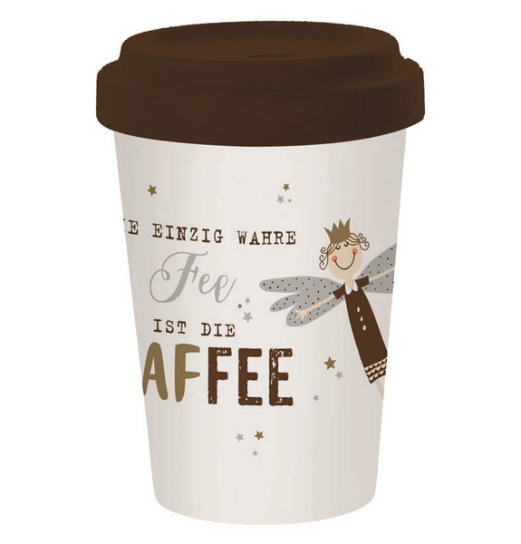 Bild von Kaffee-Fee Bambus Travel Mug Coffee to go