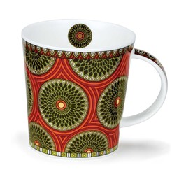 Bild von Dunoon Tassen Masai orange Lomond Fine Bone China