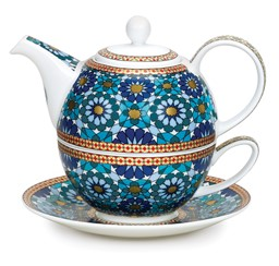 Bild von Tea For One Set Ishtar Fine Bone China
