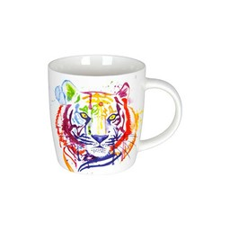 Bild von Tiger Watercoloured Animals Teetasse Kaffeebecher Könitz