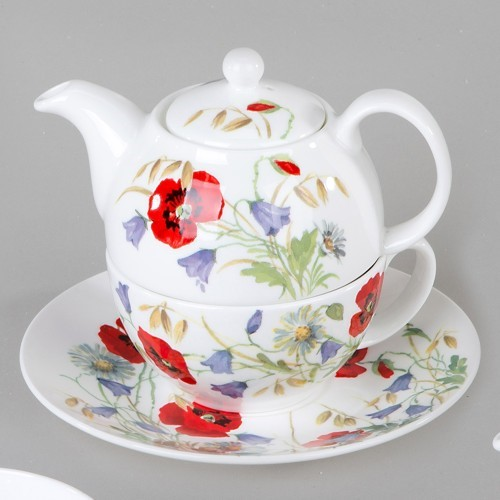 Bild von Tea For One Set English Meadow