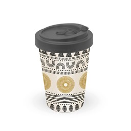 Bild von Ethno Style Bambus Travel Mug Coffee to go