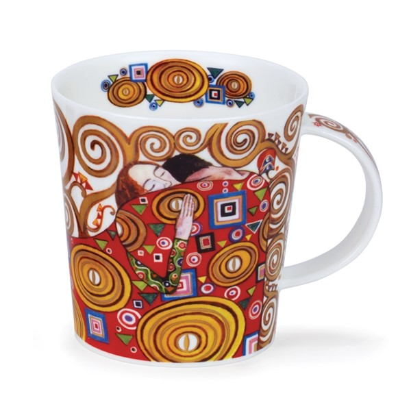 Bild von Destiny Embrace Klimt Dunoon Tasse Lomond Fine Bone China