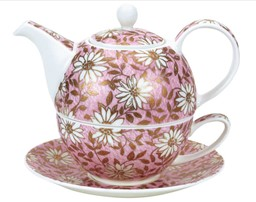 Bild von Tea For One Set Nuovo pink