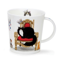 Bild von Regal Cats Black and White Dunoon Tasse Lomond Fine Bone China
