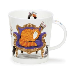 Bild von Regal Cats Ginger rote Dunoon Tasse Lomond Fine Bone China