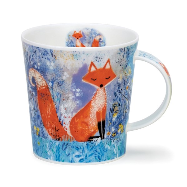 Bild von Dunoon Mystic Wood Fox Fuchs Tasse Lomond Fine Bone China