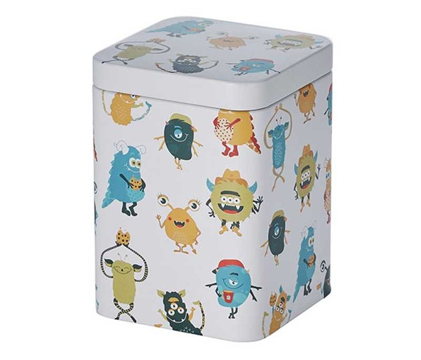 Bild von Teedose Happy Monsters
