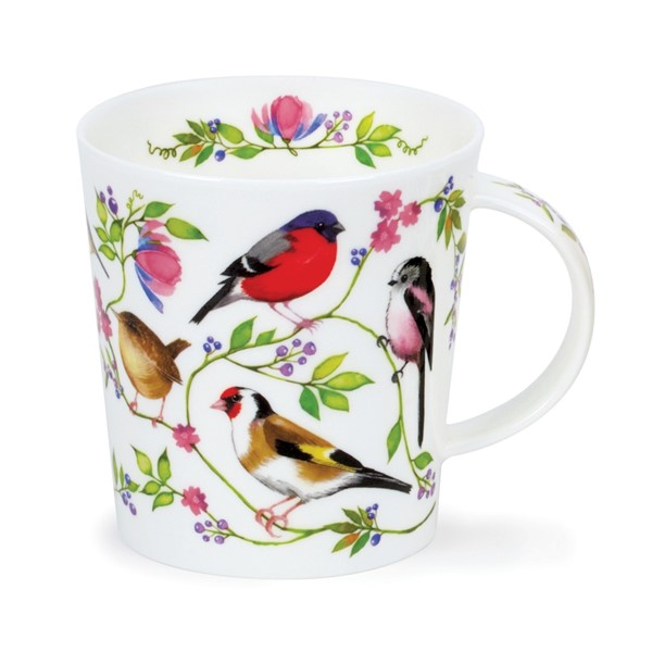 Bild von Morning Chorus Goldfinch Stieglitz Dunoon Tasse Lomond Fine Bone China